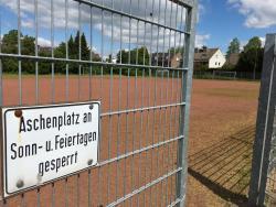 Bezirkssportanlage Puffkohlen - Platz 4 - kleiner Aschenplatz