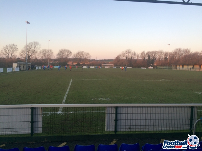 A photo of Blanchard Wells Stadium uploaded by jackgibbinsmfc