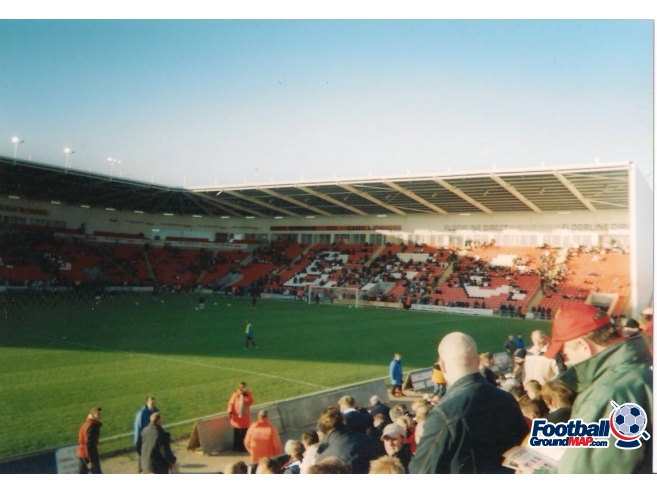 A photo of Bloomfield Road uploaded by scot-TFC