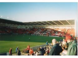 An image of Bloomfield Road uploaded by scot-TFC