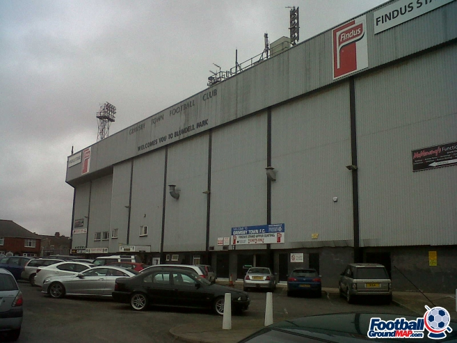 A photo of Blundell Park uploaded by scot-TFC