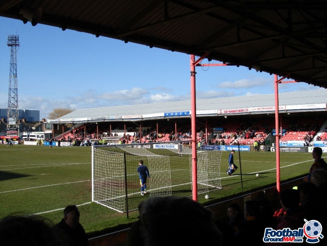 A photo of Blundell Park uploaded by saintshrew
