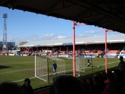 An image of Blundell Park uploaded by saintshrew