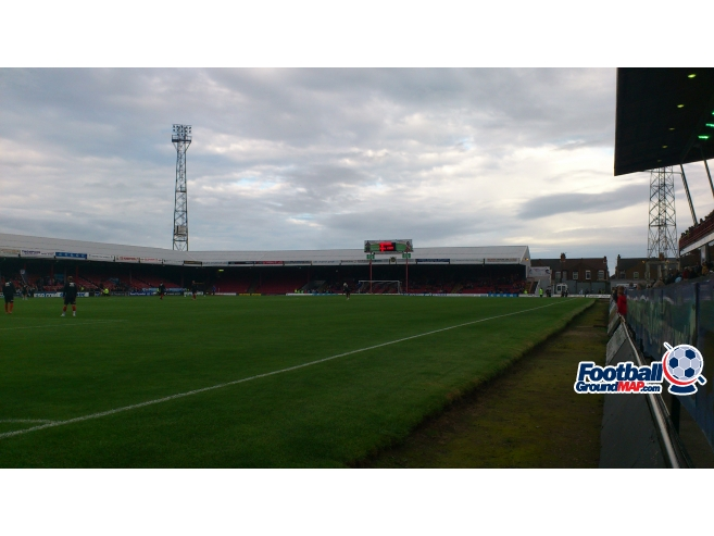 A photo of Blundell Park uploaded by biscuitman88