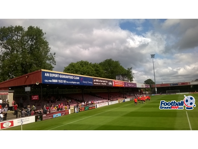 A photo of Bootham Crescent uploaded by mjscandrett96