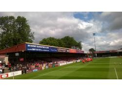 An image of Bootham Crescent uploaded by mjscandrett96