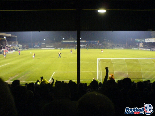 A photo of Bootham Crescent uploaded by mattwaller