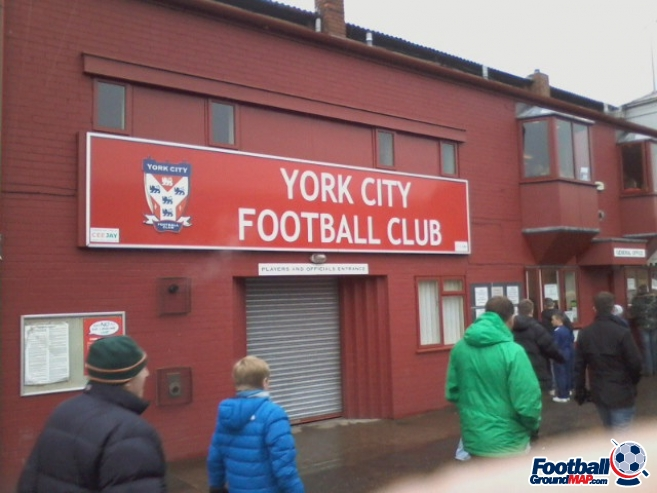 A photo of Bootham Crescent uploaded by derek-hart
