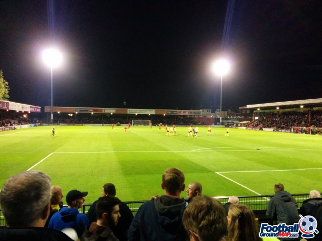 A photo of Bootham Crescent uploaded by matttheox
