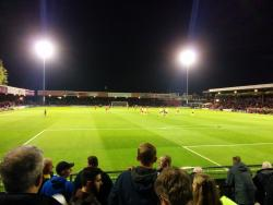 An image of Bootham Crescent uploaded by matttheox