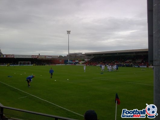 A photo of Bootham Crescent uploaded by facebook-user-54167