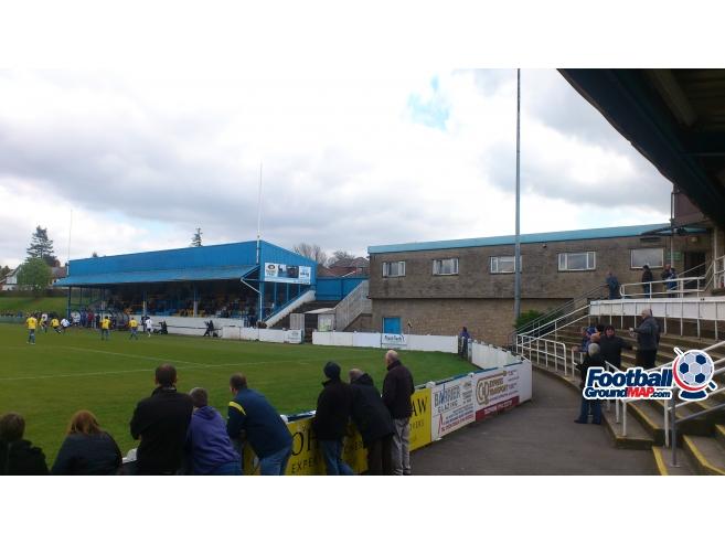 A photo of Bracken Moor Stadium uploaded by biscuitman88