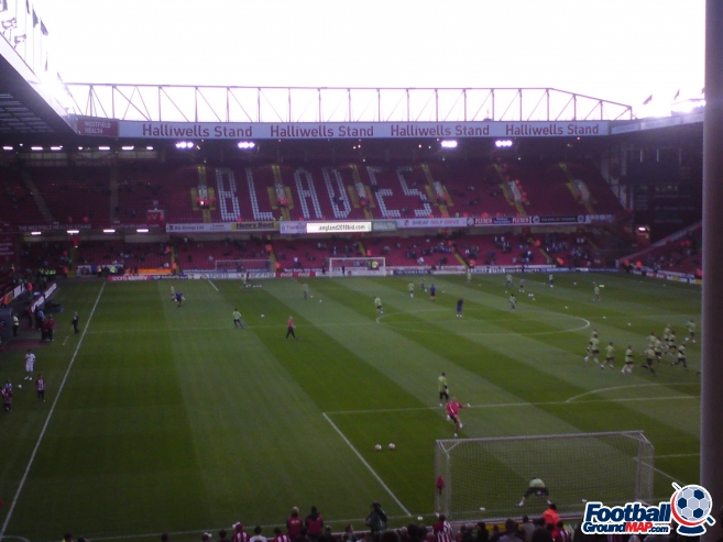 A photo of Bramall Lane uploaded by biscuitman88