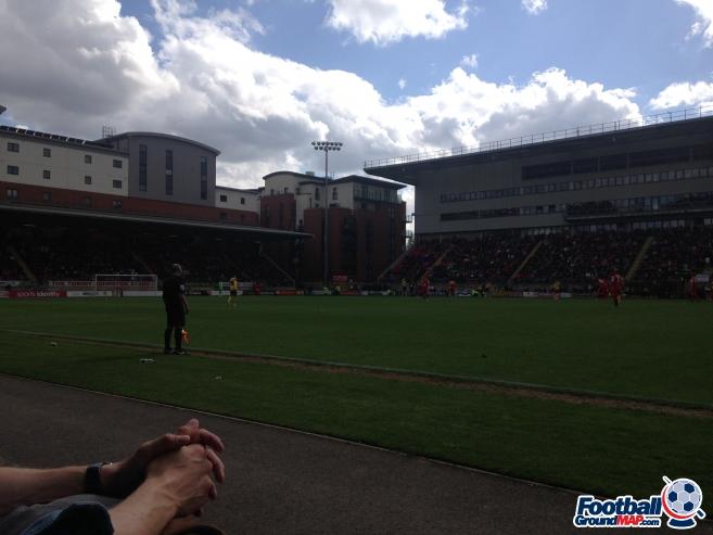 A photo of Brisbane Road (Breyer Group Stadium) uploaded by smiffeeyido93