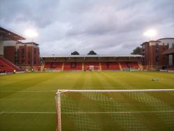 An image of Brisbane Road (Breyer Group Stadium) uploaded by chunk9