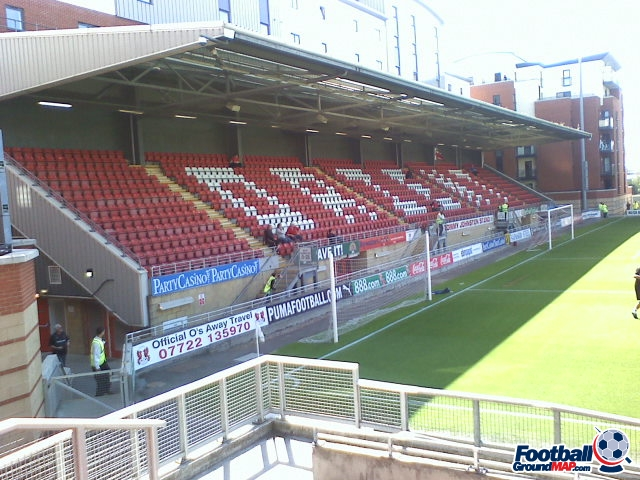 A photo of Brisbane Road (Breyer Group Stadium) uploaded by facebook-user-90348