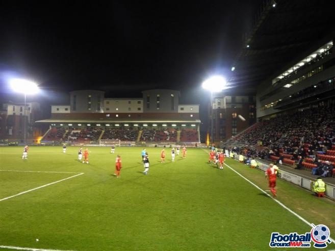 A photo of Brisbane Road (Breyer Group Stadium) uploaded by machacro