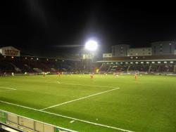 An image of Brisbane Road (Breyer Group Stadium) uploaded by machacro