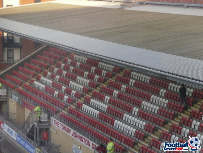A photo of Brisbane Road (Breyer Group Stadium) uploaded by carly