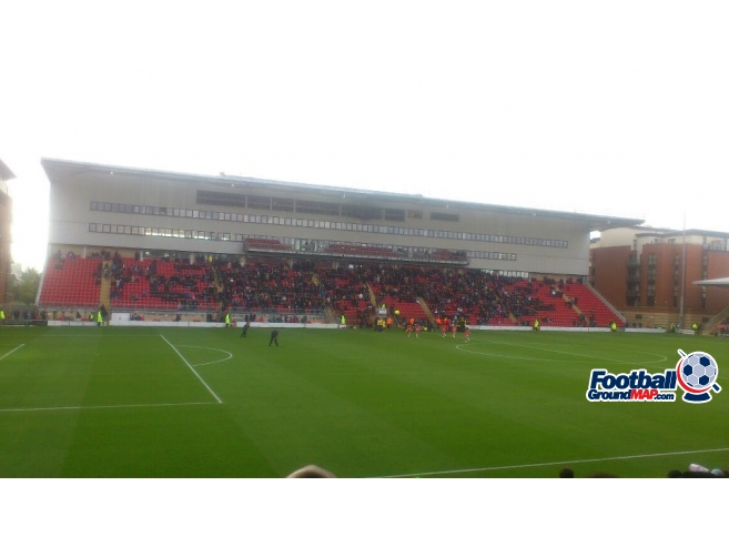 A photo of Brisbane Road (Breyer Group Stadium) uploaded by ccfc4life