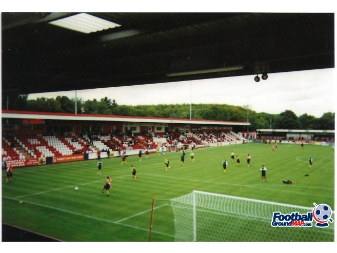 A photo of Broadhall Way (Lamex Stadium) uploaded by scot-TFC