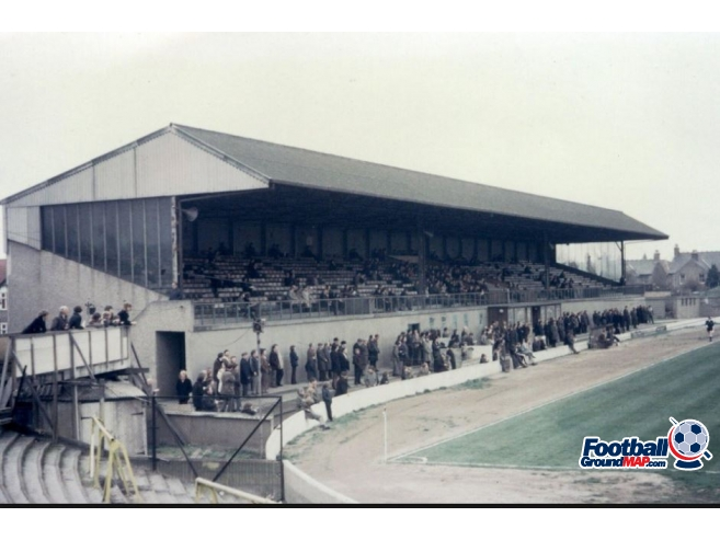 A photo of Brooklands Stadium uploaded by millwallsteve