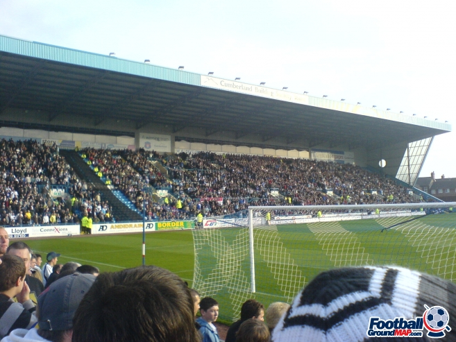 A photo of Brunton Park uploaded by marcjbrine