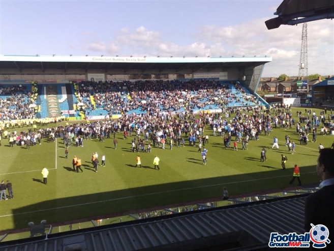 A photo of Brunton Park uploaded by wwwmarkleycouk