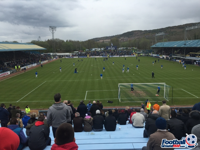 A photo of Cappielow Park uploaded by 36niltv