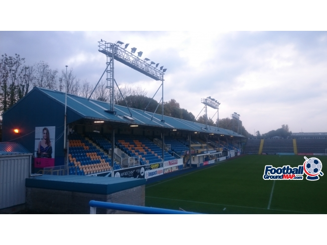 A photo of Cappielow Park uploaded by biscuitman88