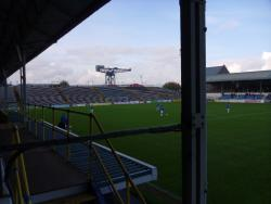 An image of Cappielow Park uploaded by smithybridge-blue