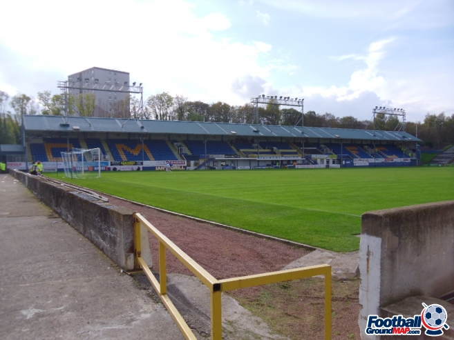 A photo of Cappielow Park uploaded by smithybridge-blue