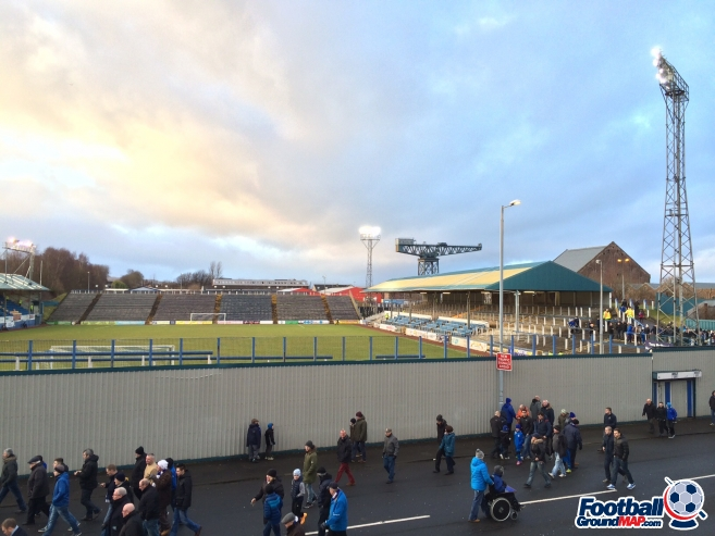 A photo of Cappielow Park uploaded by frankie81
