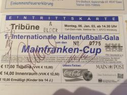 Carl-Diem-Halle - s.Oliver Arena