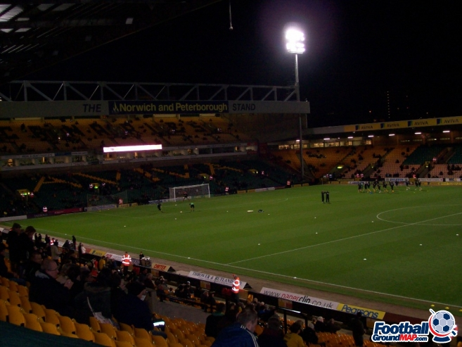 A photo of Carrow Road uploaded by chunk9