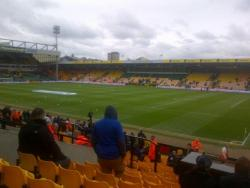 An image of Carrow Road uploaded by DanEFC98