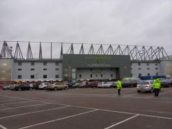 An image of Carrow Road uploaded by smithybridge-blue