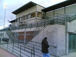 An image of Clarke Stadium uploaded by ully