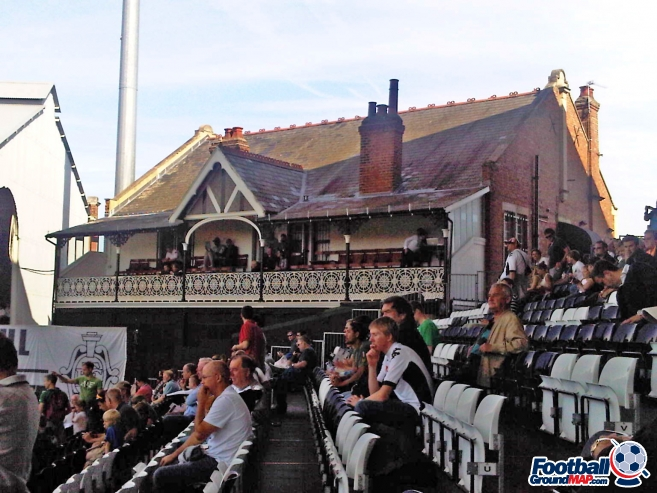 Craven Cottage, home to Fulham - Football Ground Map