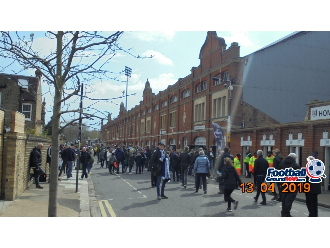 A photo of Craven Cottage uploaded by trebor