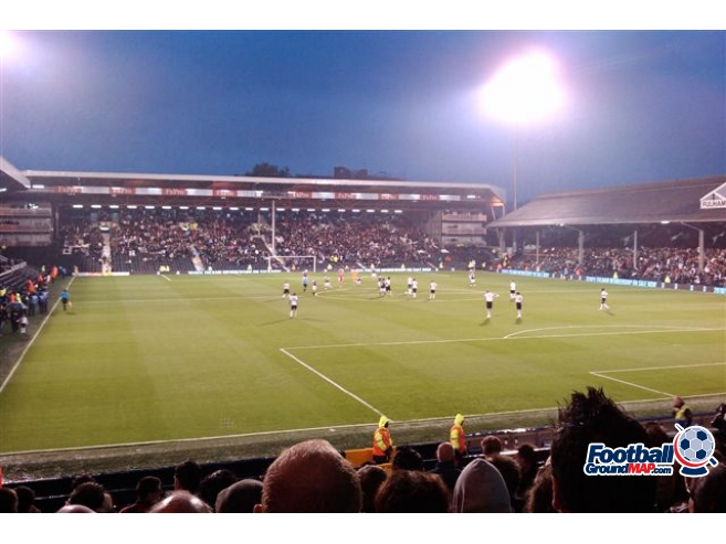 A photo of Craven Cottage uploaded by a2robinson