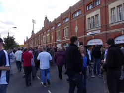 An image of Craven Cottage uploaded by smithybridge-blue