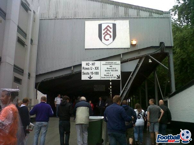 A photo of Craven Cottage uploaded by ffc1999