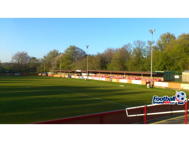 A photo of Culverden Stadium uploaded by biscuitman88