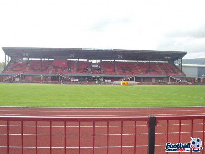 A photo of Cwmbran Stadium uploaded by facebook-user-97239
