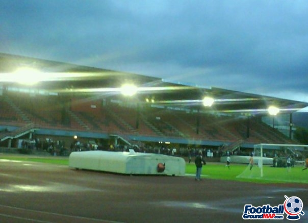 A photo of Cwmbran Stadium uploaded by thomasfish