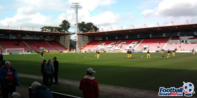 A photo of Dean Court (The Vitality Stadium) uploaded by facebook-user-39721