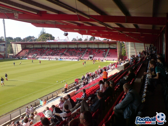 A photo of Dean Court (The Vitality Stadium) uploaded by danny-burn