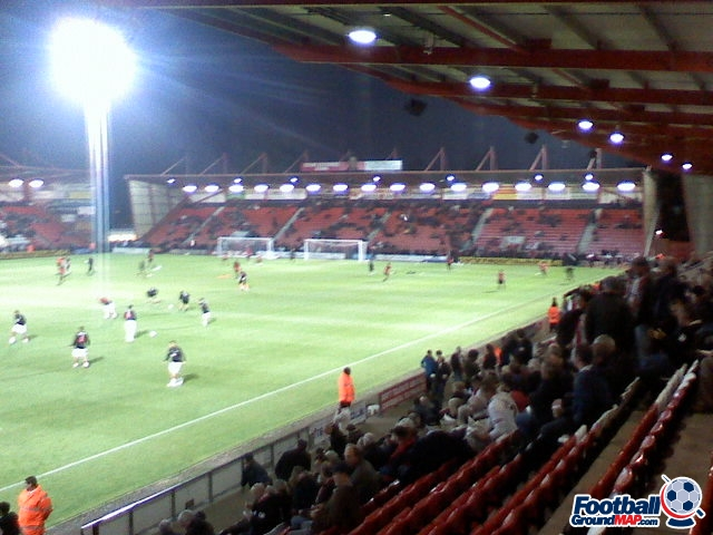 A photo of Dean Court (The Vitality Stadium) uploaded by facebook-user-90348