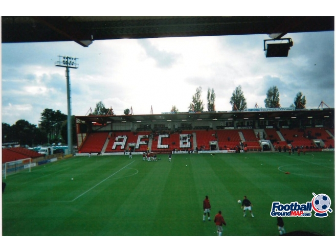 A photo of Dean Court (The Vitality Stadium) uploaded by scot-TFC